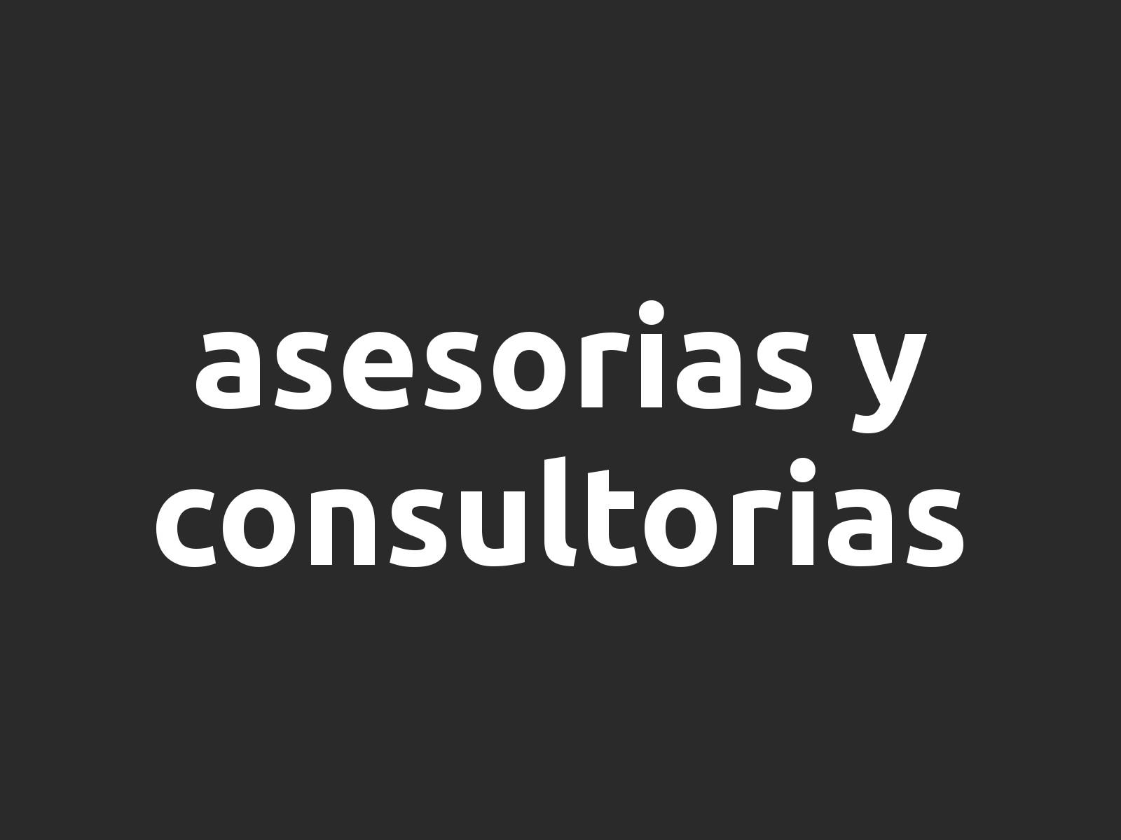 Asesoría y Consultoría TI